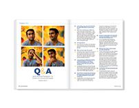 Q&A – magazine design