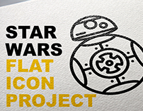 Star Wars Flat Icon Project