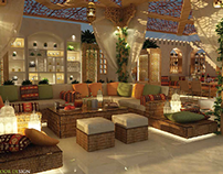 Open Area of Banaja Restaurant Project