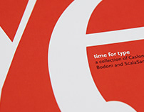 Time for Type — Type Specimen Book