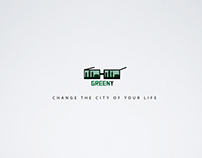 GREENY - Change the city your Life (concept)