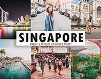Free Singapore Mobile & Desktop Lightroom Preset