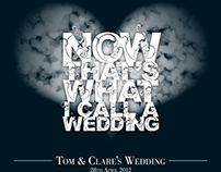 Tom & Clare's – Wedding Invites