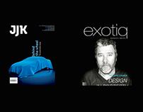 Exotiq, creative direction. JJK, editorial.