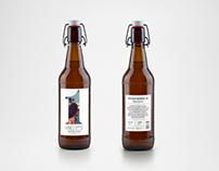 Hang Loose Beer Label