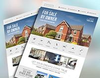Flyer Real Estate Property
