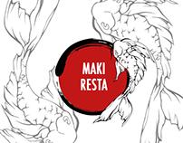 MAKI RESTA   Sushi Bar Fast Food