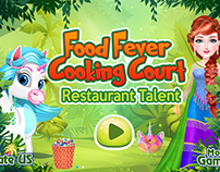 Food Fever Main Page Design