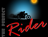 The Perfect Rider - T Shirt Graphics design