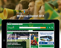 MSN Arabia - World Cup 2014 Channel
