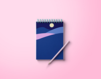 Notepad cover designs