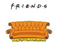 Friends [TV Show] Caricatures