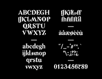 Relic—font
