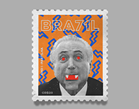 BRA71L Postage Stamps - 1 Ano de Golpe de Estado BR