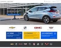 GM.com Redesign