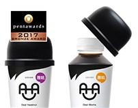 AHA dear_bottle design