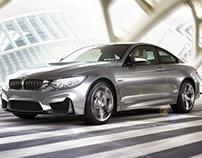BMW M4 - CGI + Backplate