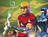 Cobra Fan art Comic color