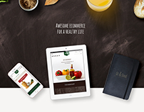 Fit & Food - Magento e-commerce