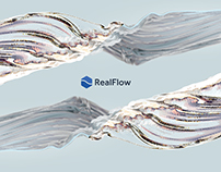 RealFlow Ident | Creative Elastics