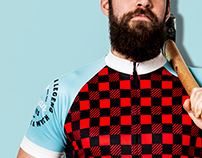 Paul & Babe Themed Cycling Jerseys