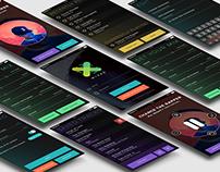 MIXER App UI Design