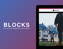 Blocks - An online magazine concept