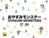 Oyasumi Monsters x STUPKID