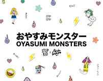 Oyasumi Monsters x STUPKID