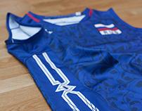 Mizuno // Russia // Women's Volleyball Teamwear // SS15