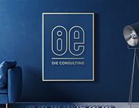 OIE Consulting. Logo design.