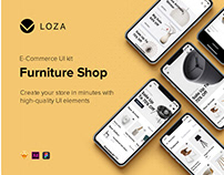 Loza - Furniture Shop App UI Kit