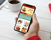 Refugee Kitchen (Mobile, UX/UI)