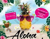 Aloha Zumba Poster Design