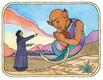 Aladdin and His Magic Lamp - Book