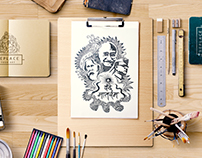 Doodle Art_Vande Mataram