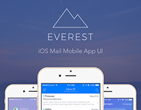 Everest - iOS Mail App UI
