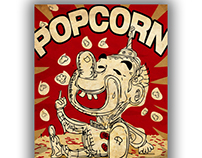 Popcorn poster #art