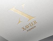 Xavier Vignon / rebranding proposal X6 - X7