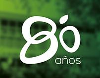 Logo 80 años UN Palmira