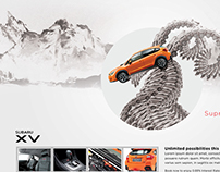 Subaru XV CNY 2015 Newspaper ad