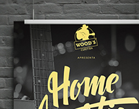 Home Acustic Lounge - Wood´s Curitiba