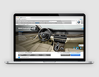 BMW – online car configurator screen design