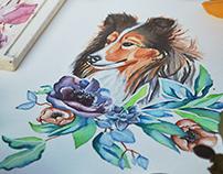 Honey Watercolor