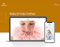 Chua Kids Store - E-commerce Web Design
