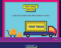 Daily UI Design - Logistic Service