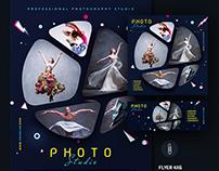 Photo Studio Flyer Template
