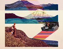#129 | Set of Collage illustrations