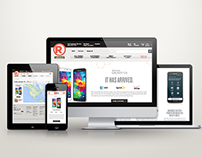 Samsung / RadioShack Responsive Design