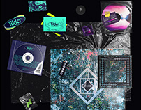 Concept vinyl artwork series - part one